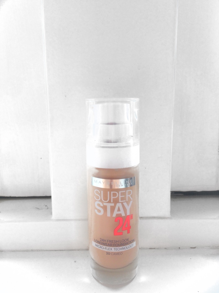 MAYBELLINE foundation super stay 24h